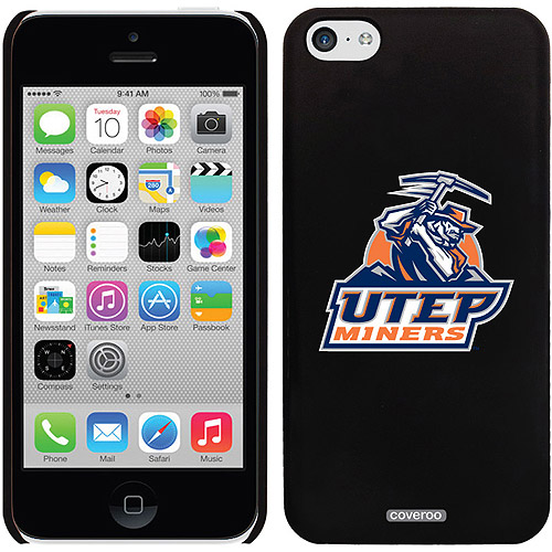 Coveroo UTEP Mascot Raised Design Apple iPhone 5c Thinshield Snap-On Case