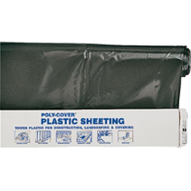 Pro fitl Poly 4X16 B 16 x 100 Ft 4 Mil Black Polyethylene