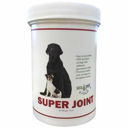 Sea Pet Super Joint Formula Powder for Dogs  Cats 16 oz.