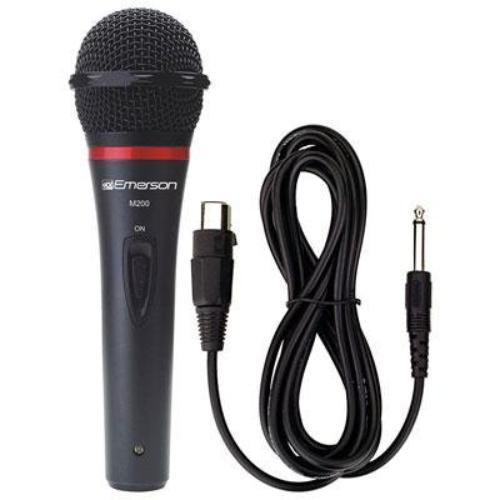 Emerson M200 Karaoke Usa M200 Professional Microphone With Durable Metal Case & Grill
