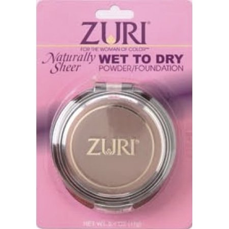 Zuri Naturally Sheer Pressed Powder Wet To Dry Sahara Sunset