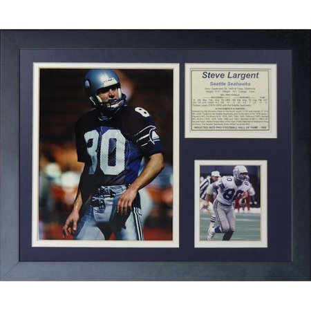(Legends Never Die Steve Largent Framed Memorabilia)