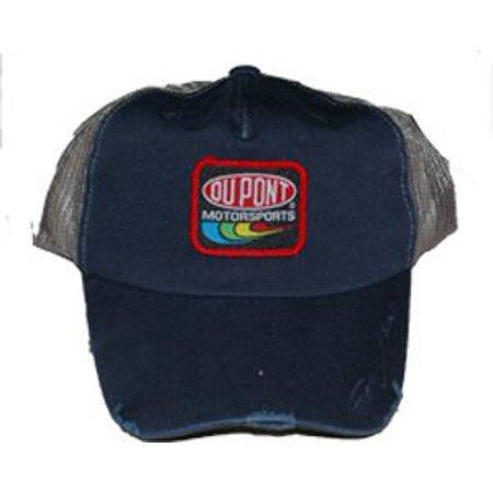 "NASCAR Jeff Gordon #24 Dupont ""Ripped Style"" Trucker Mesh Snapback Cap"