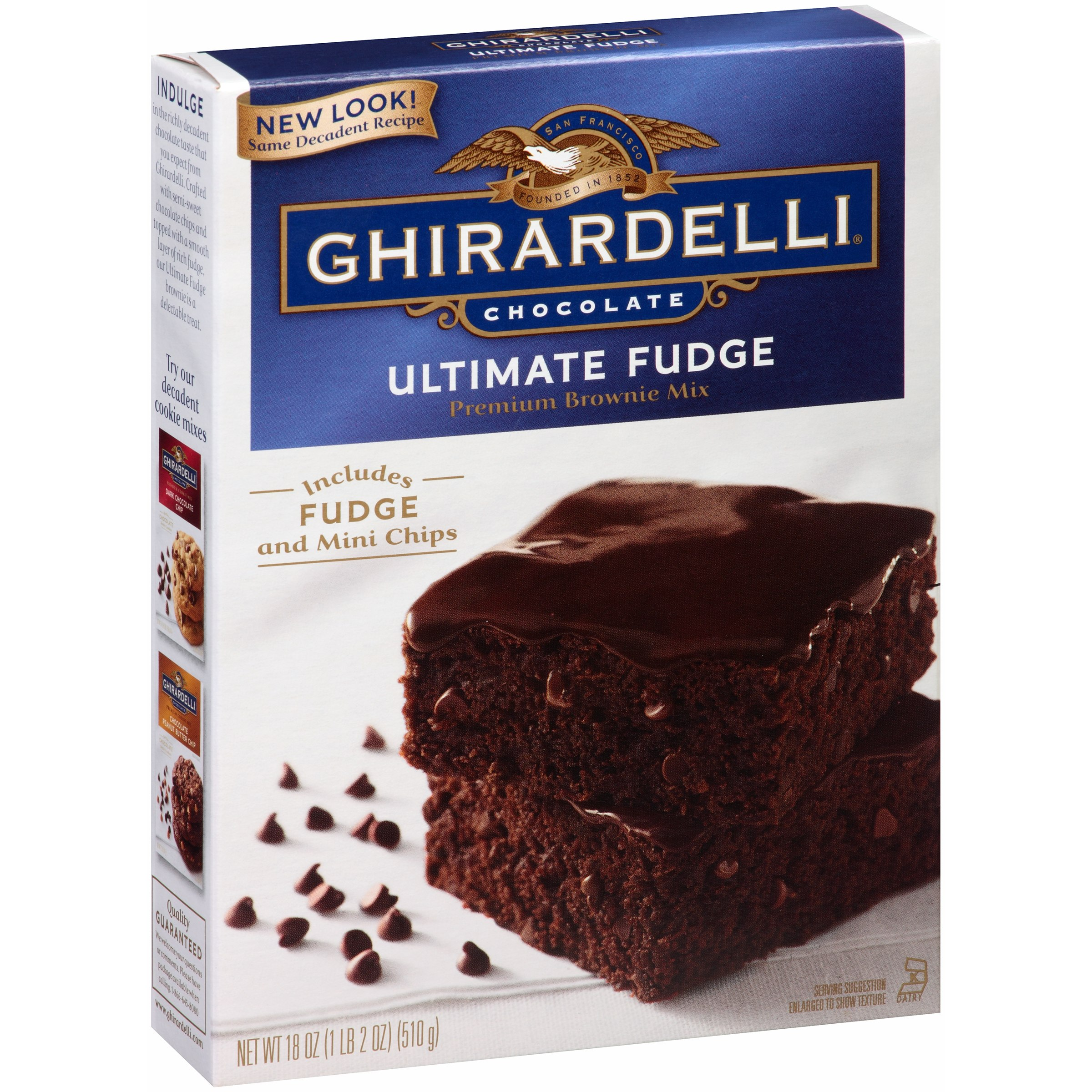 Ghirardelli Chocolate Brownie Mix, Ultimate Fudge, 18 Oz