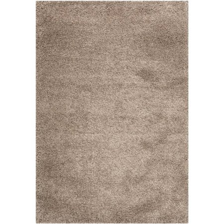 "Hawthorne Collection Taupe Shag Rug - Runner 2'3"" x 5' - image 1 of 1"
