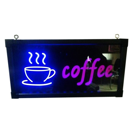 Coffe with Cup Sign for store, shop an dmore; Product size: 19