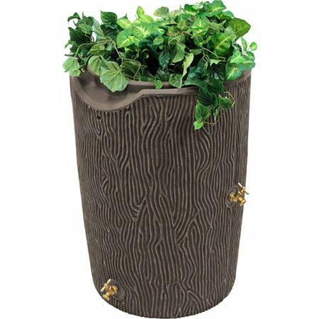 Impressions 50-Gallon Bark Rain Saver, Oak