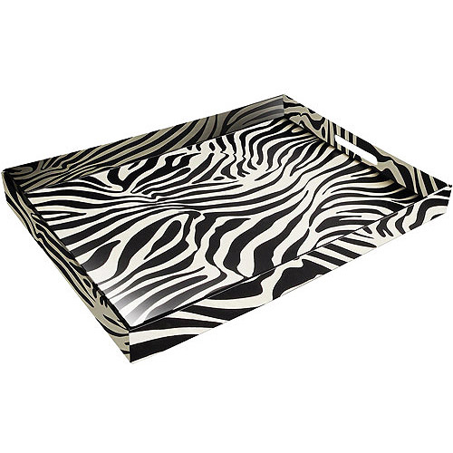 Accents by Jay Leather Serving Tray, Assorted Patterns