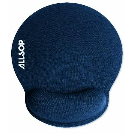 Allsop ALS30206B Memory Foam Mouse Pad with Wrist Rest (Blue) Allsop 29250 Redmond Mouse Pad