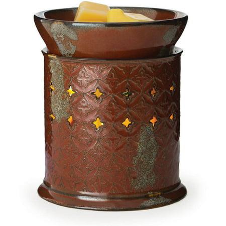 2-In-1 Flickering Fragrance Warmer, Moroccan Spice