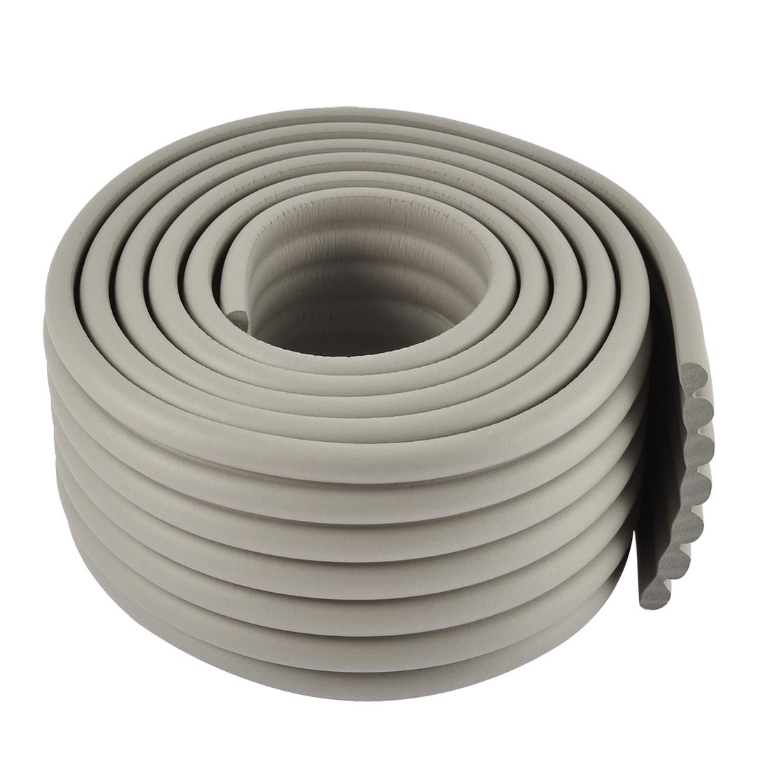 Table Edge Corner Cushion Guard Protector Bumper Strip w Adhesive Tape