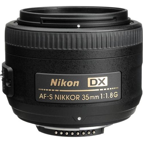 Nikon AF-S DX Nikkor 35mm f/1.8G Standard Lens
