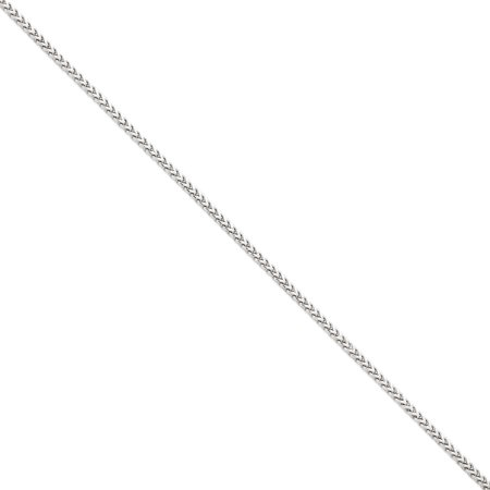 14K Yellow Gold 2 5Mm Wide Franco Chain Necklace