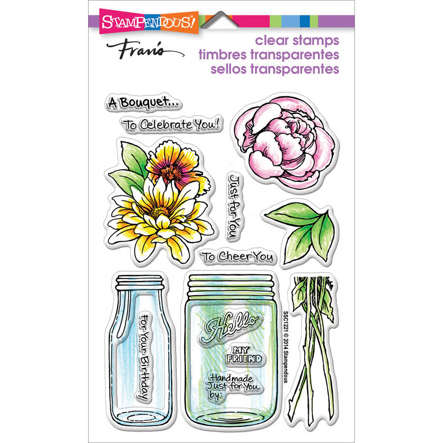 "Stampendous Perfectly Clear Stamps, 4"" x 6"""