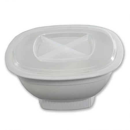 Nordic Ware Microwave Corn Popper, BPA-free and Melamine Free Plastic, High-Heat Plastic, 5 Year Warranty, 12 Cup