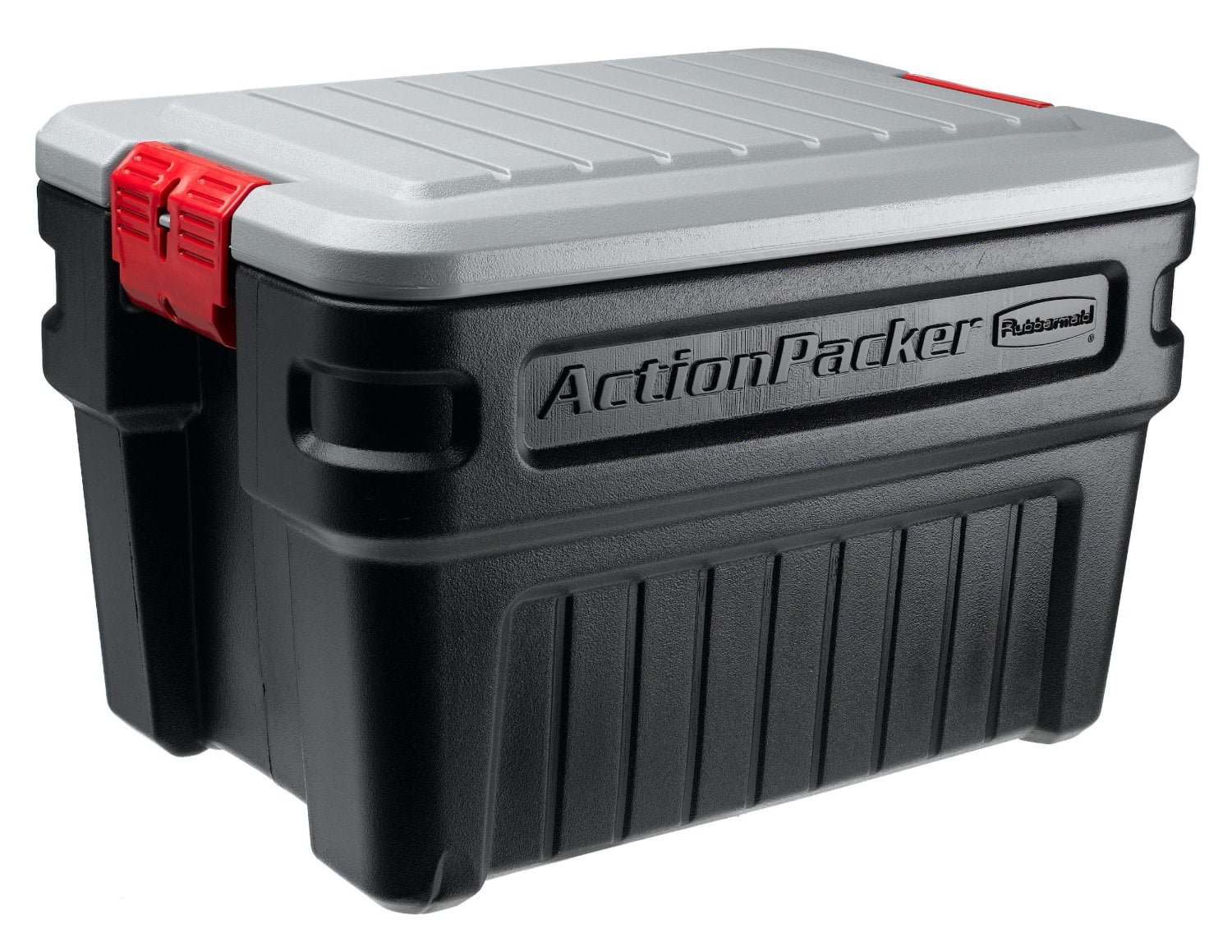 Exceptional Rubbermaid FG11720238 24 Gallon ActionPackerᅡᆴ Storage Container    Walmart.com