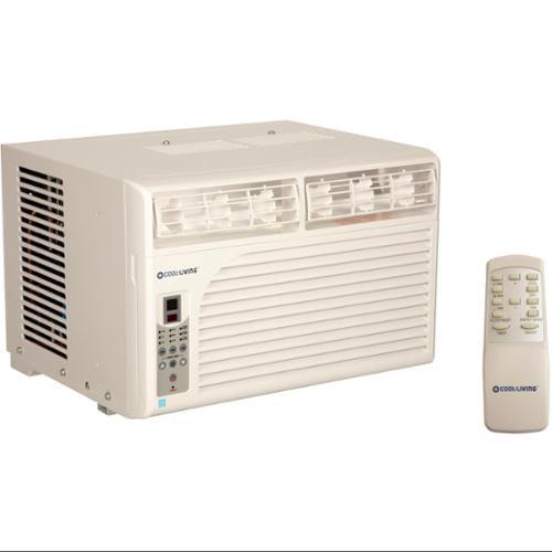 Cool Living 6,000 BTU Energy Star Efficient Window Mount Room Air Conditioner AC
