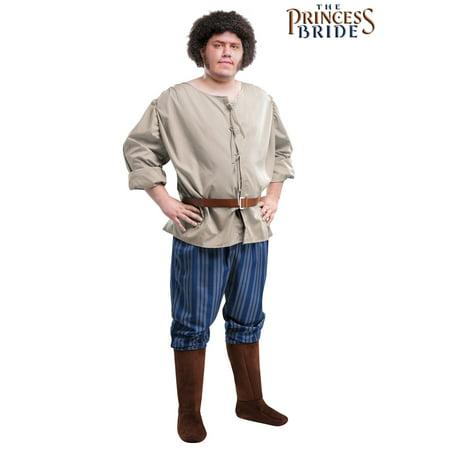 Plus Size Princess Bride Fezzik Costume - Fezzik Costume