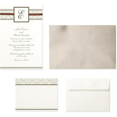 Wilton Bo Champagne Chcolate Mng Invitation Kit