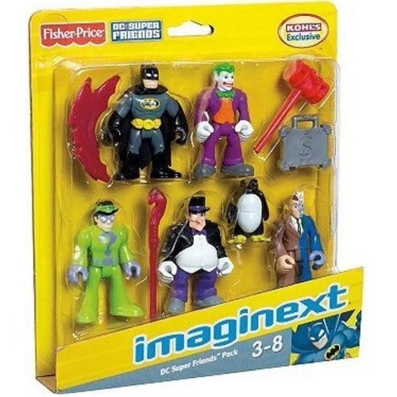 Imaginext DC Super Friends Exclusive 5-Pack