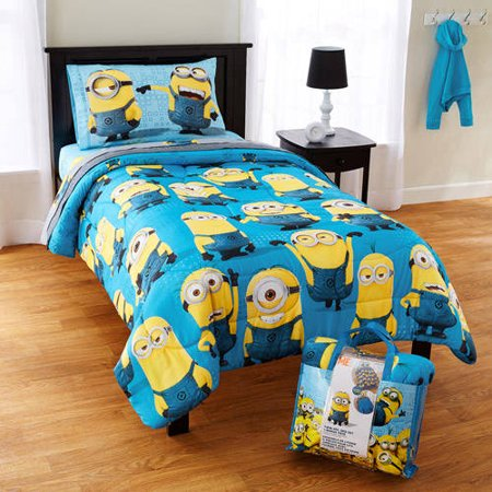 disney despicable me minion bed in a bag with bonus tote