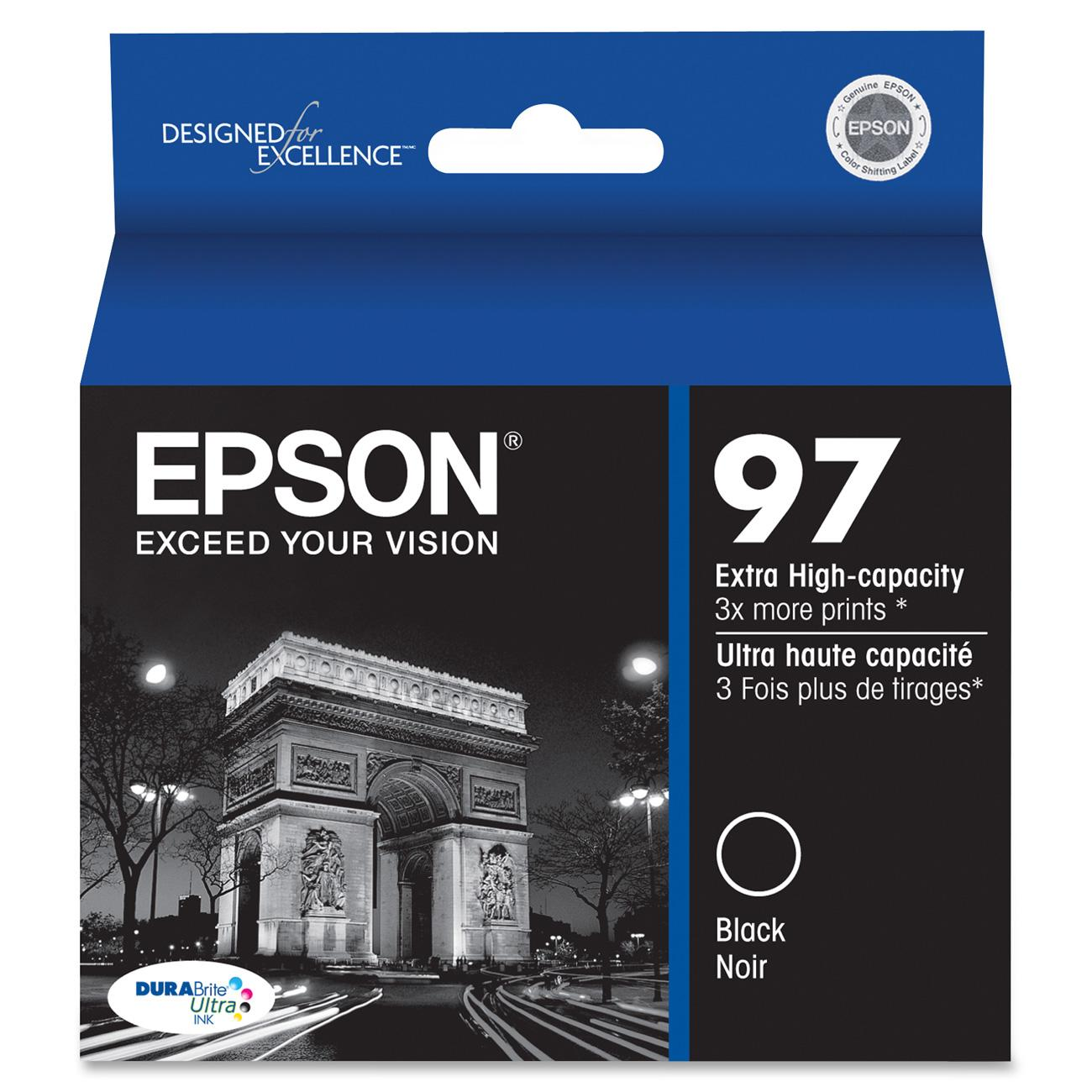 Epson Original Ink Cartridge, 1 Each (Quantity) by Epson