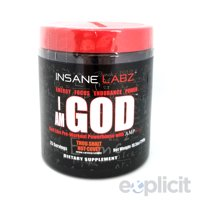 I Am God - Thou Shalt Not Covet - 25 Servings - Insane Labz