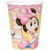 Disney Minnie's 1st Birthday 9 oz Cups, 8pk