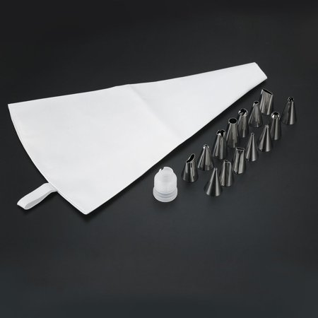DIY 31cm Length Silicone Ice Piping Cream Pastry Bag Cake Decorating Squeeze - image 8 of 10