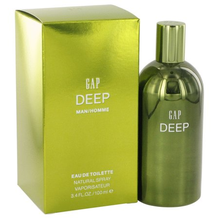 Gap Gap Deep Eau De Toilette Spray for Men 3.4 oz