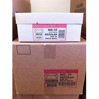 No. 10 Printmaster White Wove Envelopes 24lb 2500/Pack