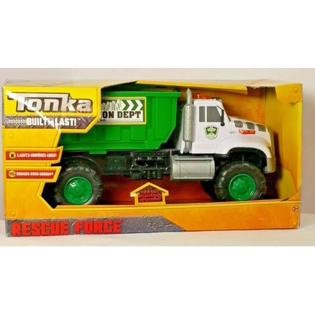 Force Truck - Tonka Rescue Force Garbage Truck