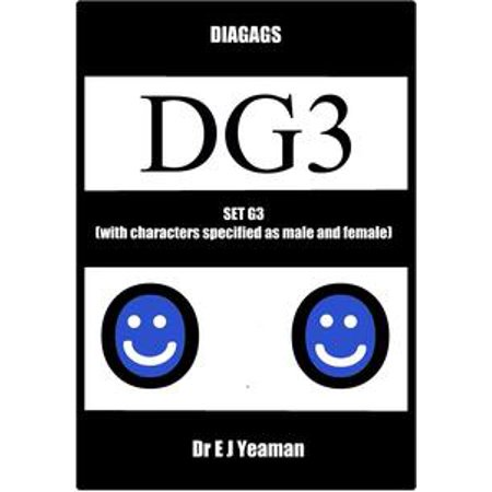 Diagags Set G3 (with Characters Specified as Male and Female) - - Female Horror Characters