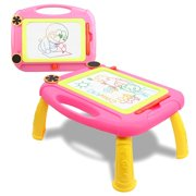 SLHFPX Gift for 2-6 Year Old Kids,Magnetic Drawing Sketching Writing Table for 1-6 Year Old Kid Toys for 2-6 Year Old Boys Girls Toddlers