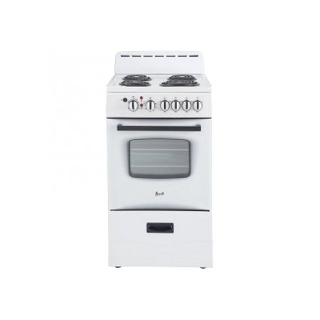 "Avanti 20"" White Electric Range - ER20P0WG"