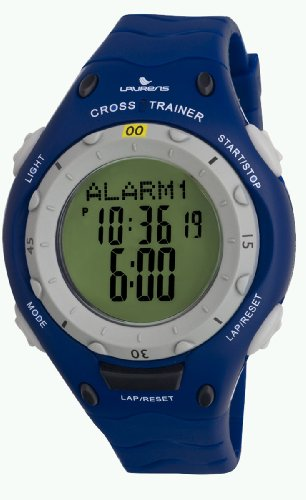 Laurens Men's L125J901Y Cross Trainer Digital Display Blue Resin Wristwatch by Laurens