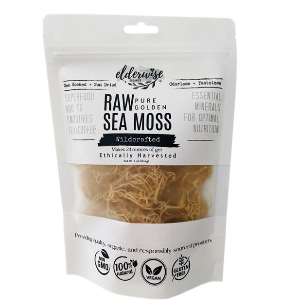 Sea Moss Wildcrafted Raw Non Gmo Sundried Mineral Rich Makes 24 Ounces Of Gel Walmart Com Walmart Com