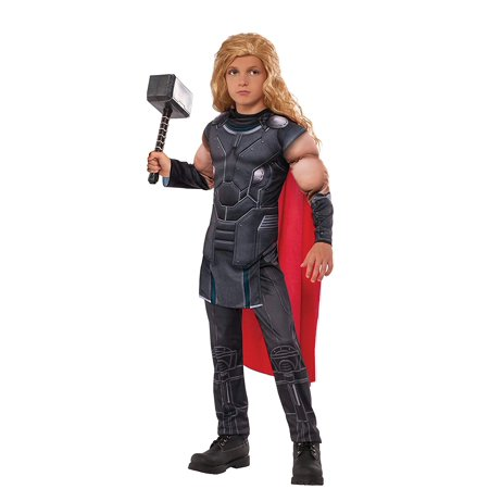 Marvel Thor Ragnarok Kids Padded Chest Thor Costume](Thor Child Costume)