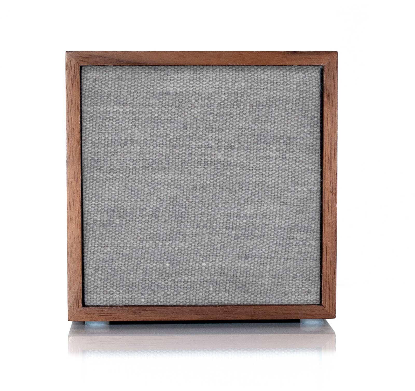 Tivoli CUBE Walnut Gray Wireless Speaker by Tivoli