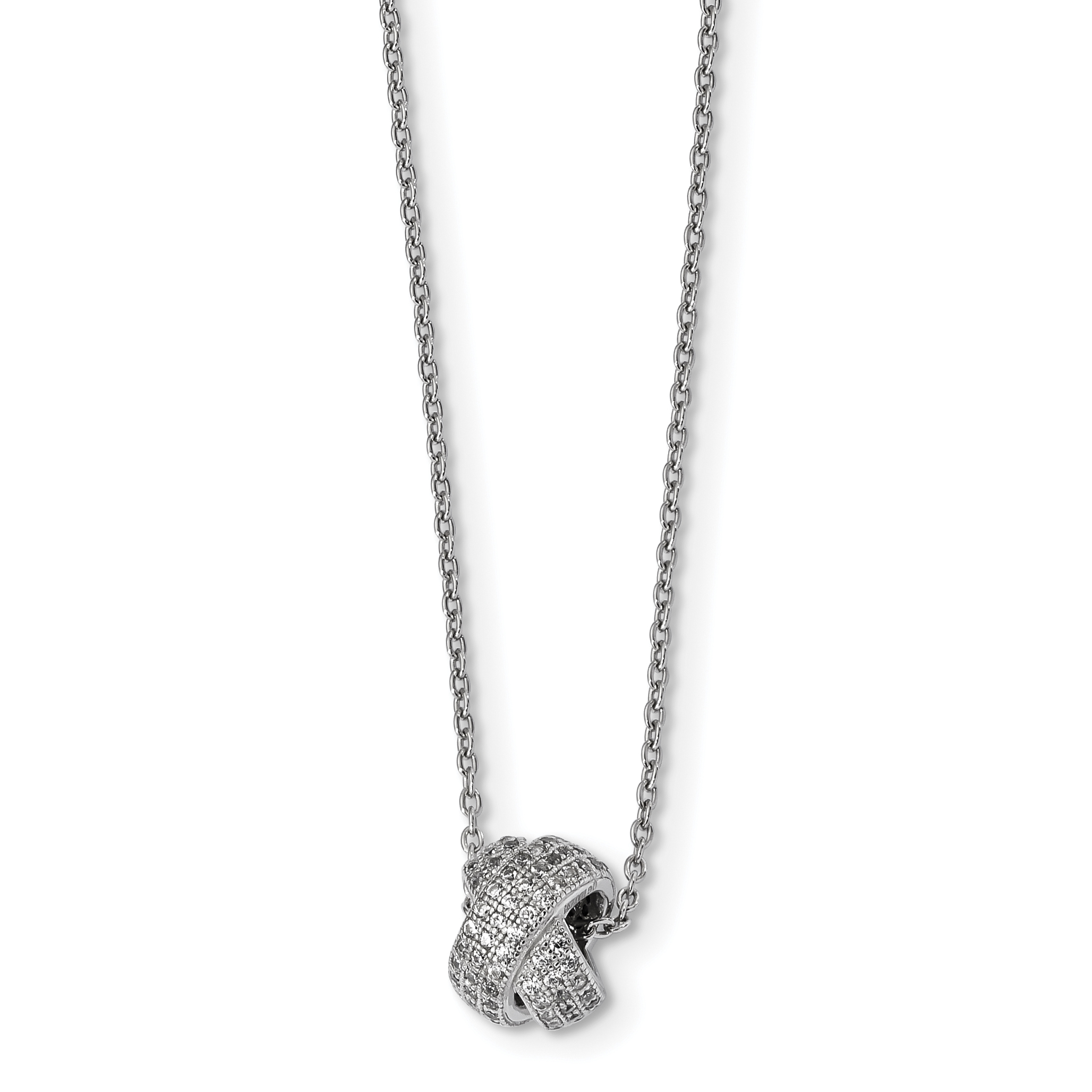 925 Sterling Silver Cubic Zirconia Cz Chain Necklace Pendant Charm Fine Jewelry Gifts For Women For Her