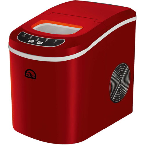Igloo Portable Countertop Ice Maker ICE102 - Red