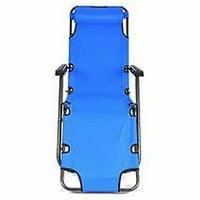 Akoyovwerve Outdoor Folding Reclining Chair for Garden/Patio, Blue