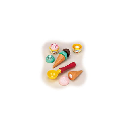 Ice cream set kitchen play toys by small world 8632142 for Small toy kitchen set