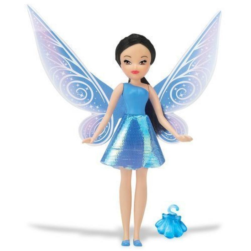 "Playmates Disney Fairies Silvermist Doll 4"" Series 2008 R..."