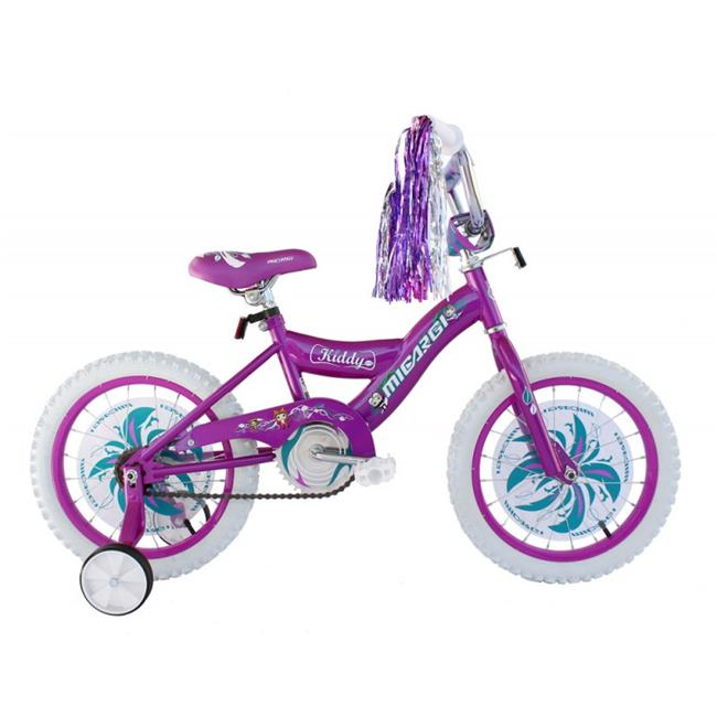 Micargi KIDDY-G-PP 16 in. Girls BMX Bicycle, Purple
