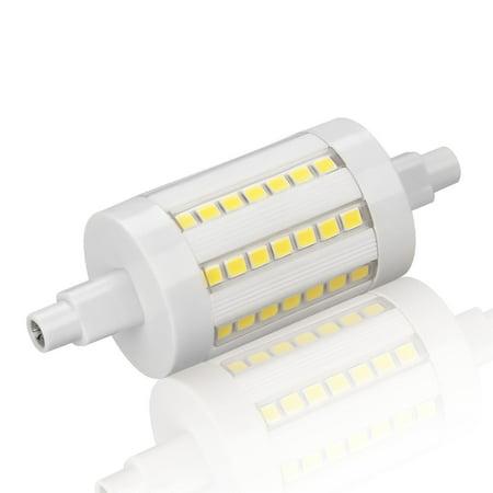 6w r7s led bulb 78mm 56pcs chips 60w j type double end tungsten halogen replacement etl. Black Bedroom Furniture Sets. Home Design Ideas