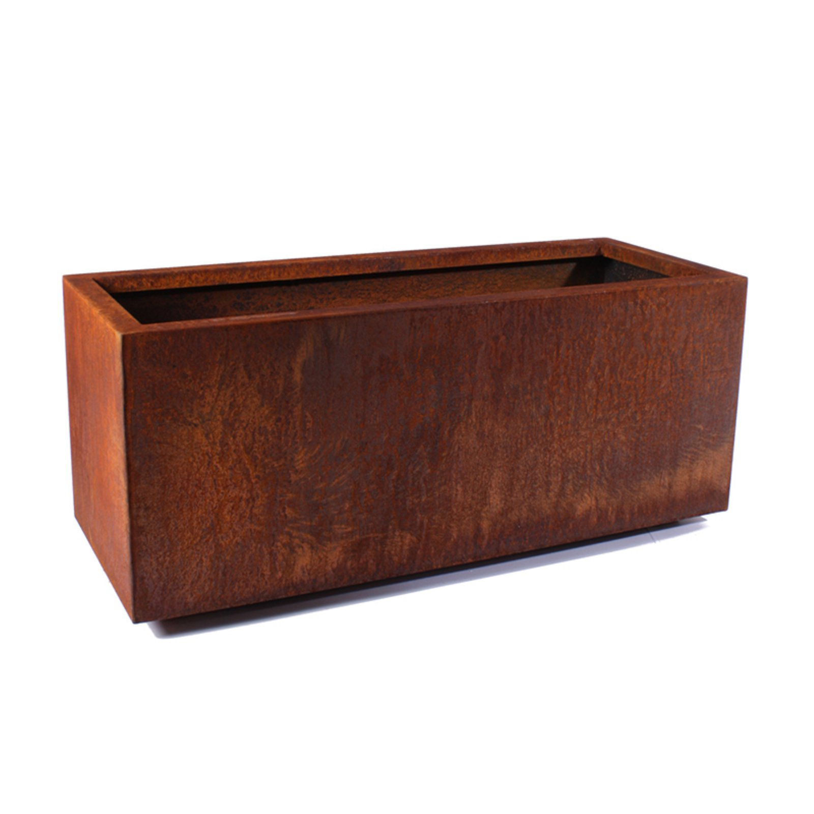 Veradek Metallic Series Long Box Planter Corten Steel by