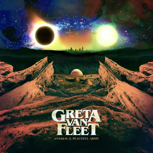 Anthem Of The Peaceful Army (CD)
