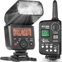 Altura Photo AP-305N Camera Flash Light with Manual Trigger for Nikon Cameras