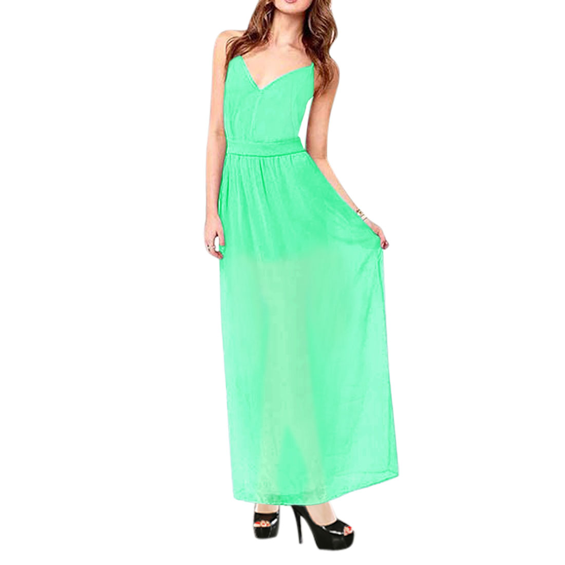 Allegra k maxi dress